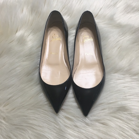 4c613209de9 Christian Louboutin Shoes - Christian Louboutin Pigalle Follies Flats  595